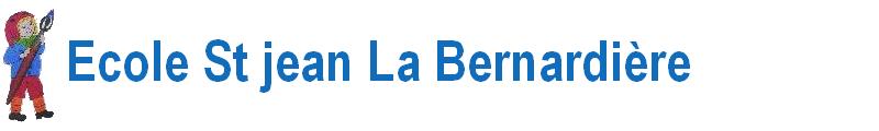 École St Jean La Bernardière